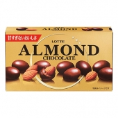 LOTTE Almond Chocolate миндаль в шоколаде
