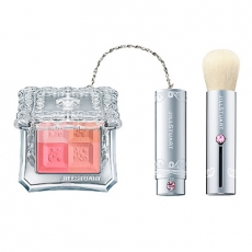 Jill Stuart Mix Blush Compact румяна c кистью